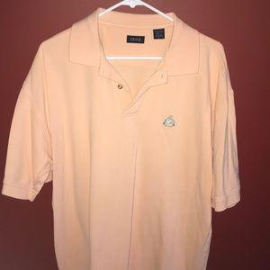 IZOD pink collared shirt